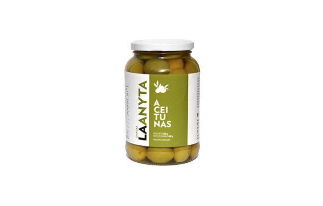 Aceitunas verdes sin carozo